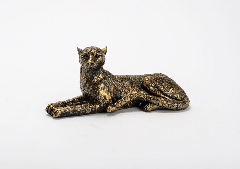 Figurina decorativa Leopard Gaspard L30cm imagine 2021 insignis.ro