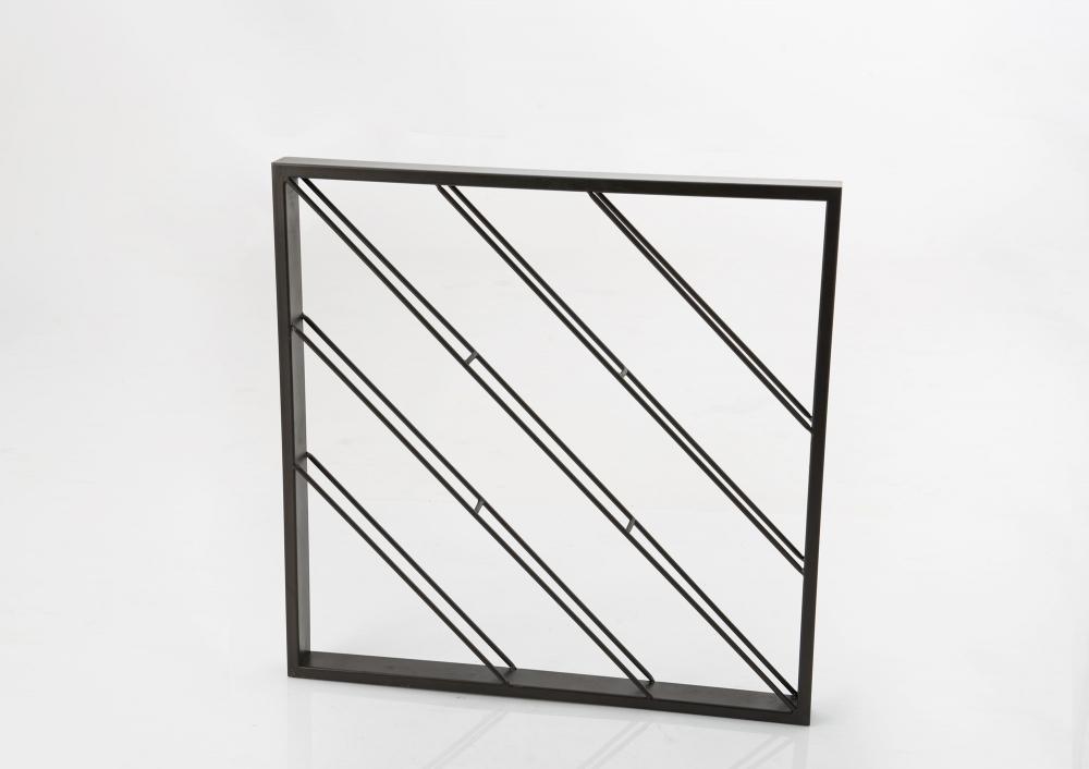 Suport de perete pentru sticle patrat Murane L80xH80xl6cm imagine 2021 insignis.ro