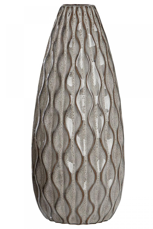Vaza decorativa din ceramica Santorini H32.5cm imagine 2021 insignis.ro