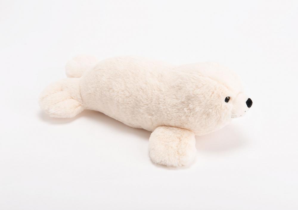 Plus moale si pufos foca Leo imagine 2021 insignis.ro