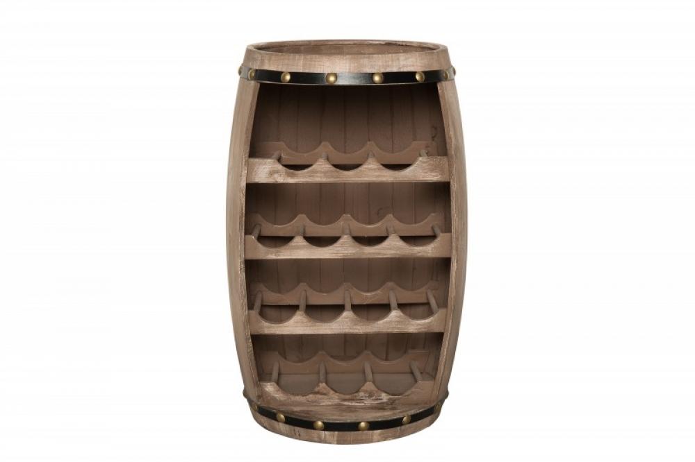Bar din lemn masiv de brad in stil colonial Padrino 40x64x38cm finisaj natural imagine 2021 insignis.ro