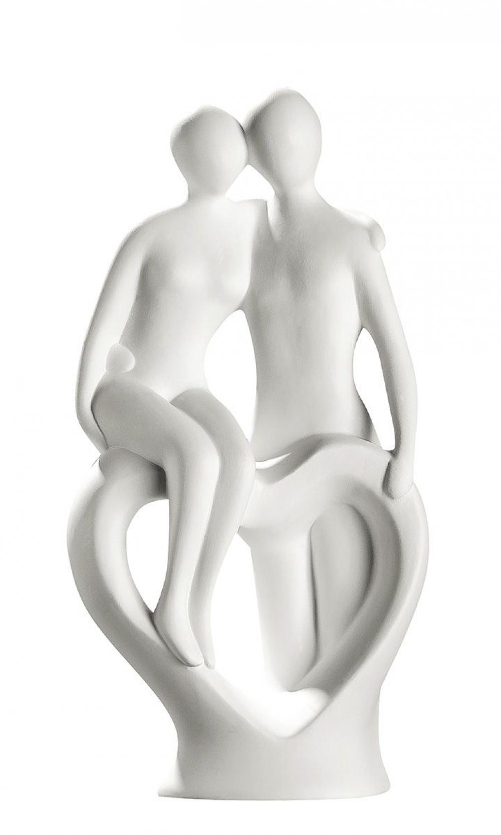 Statueta decorativa din ceramica Heartly Backing H39cm imagine 2021 insignis.ro