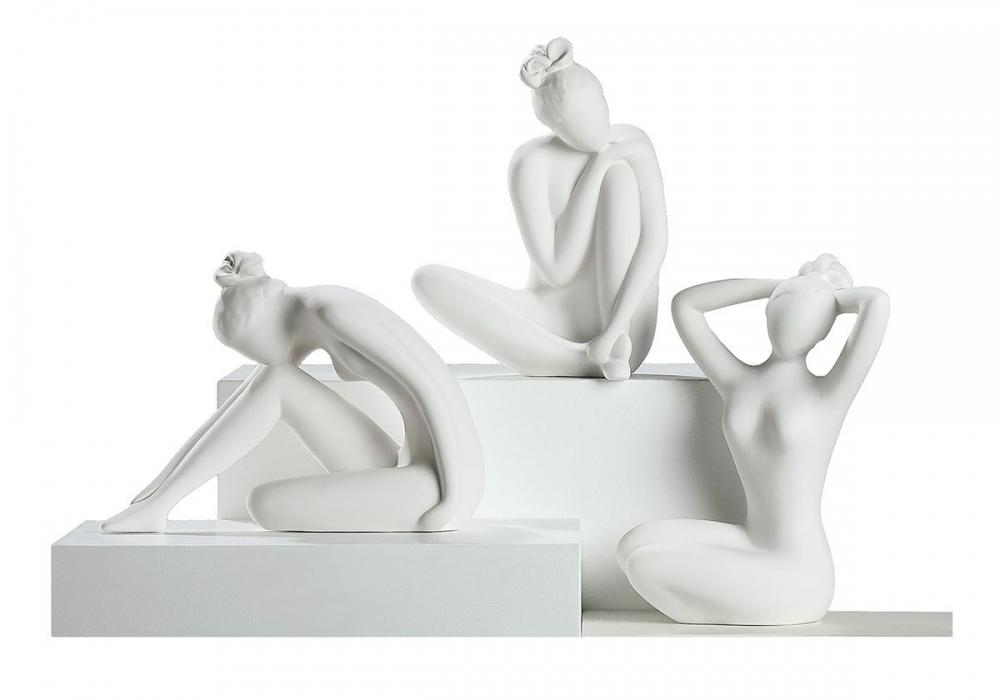 Statueta decorativa din ceramica Gratie H23cm imagine 2021 insignis.ro