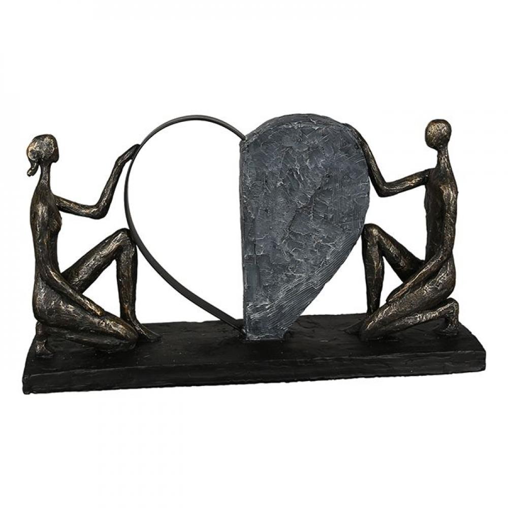 Statueta decorativa din poliresina Affair of the heart L38cm imagine 2021 insignis.ro