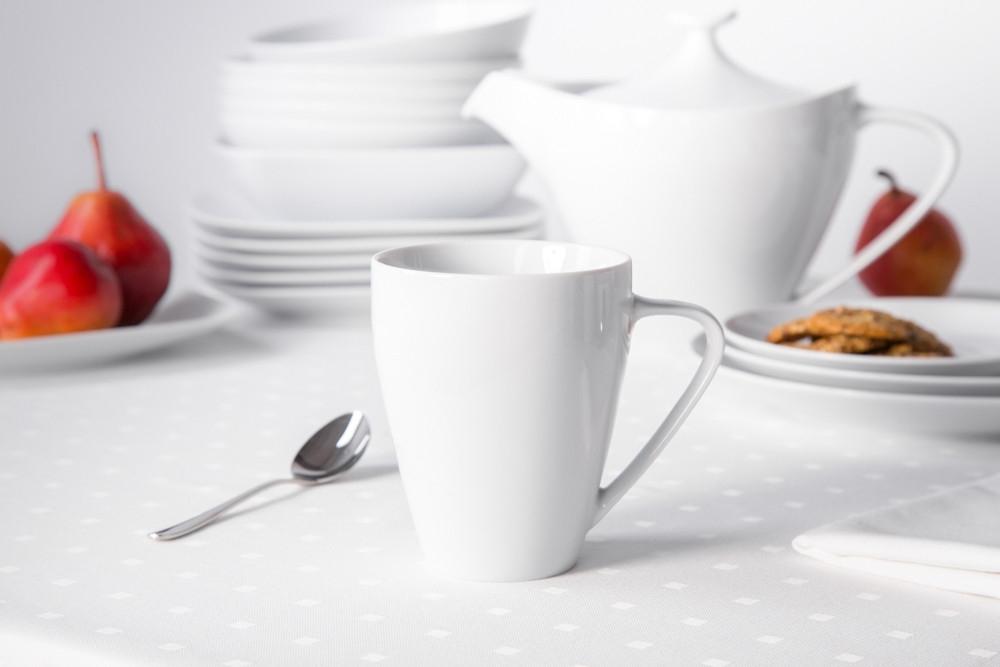 Cana pentru ceai/cafea din portelan MariaPaula Moderna 350ml imagine 2021 insignis.ro