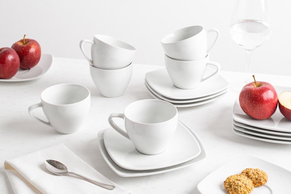 Serviciu de cafea/ceai din portelan MariaPaula Moderna 18piese ambalaj cadou imagine 2021 insignis.ro