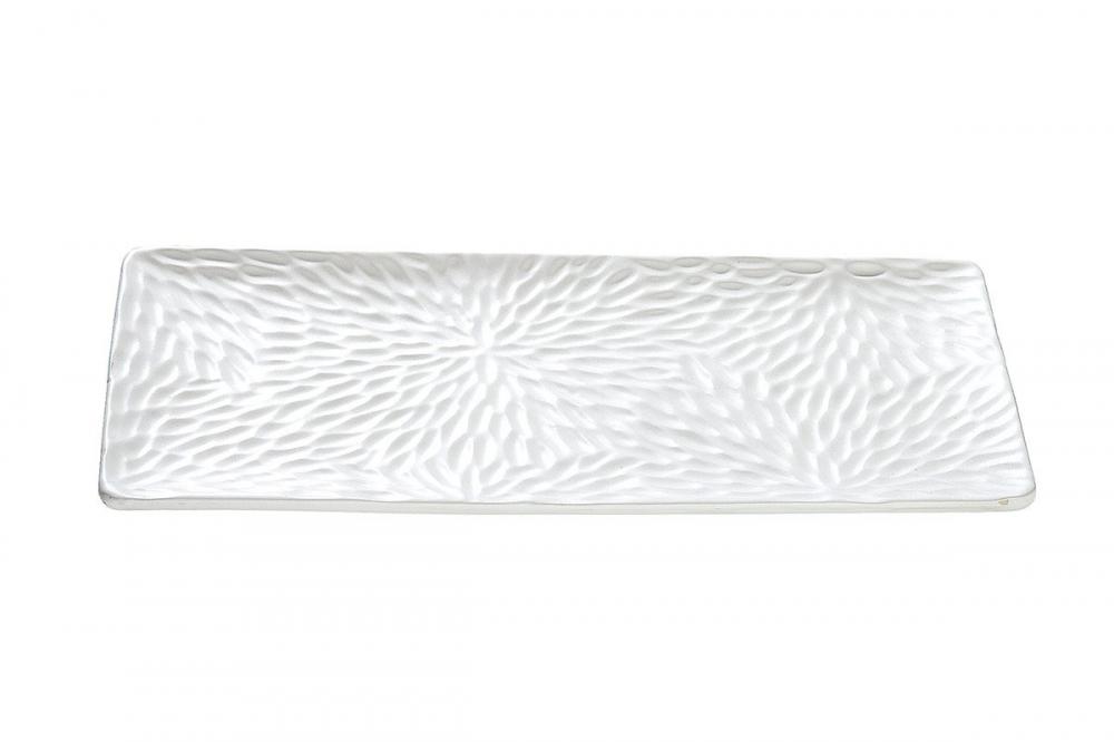 Platou decorativ din ceramica Dahlia L39cm imagine 2021 insignis.ro