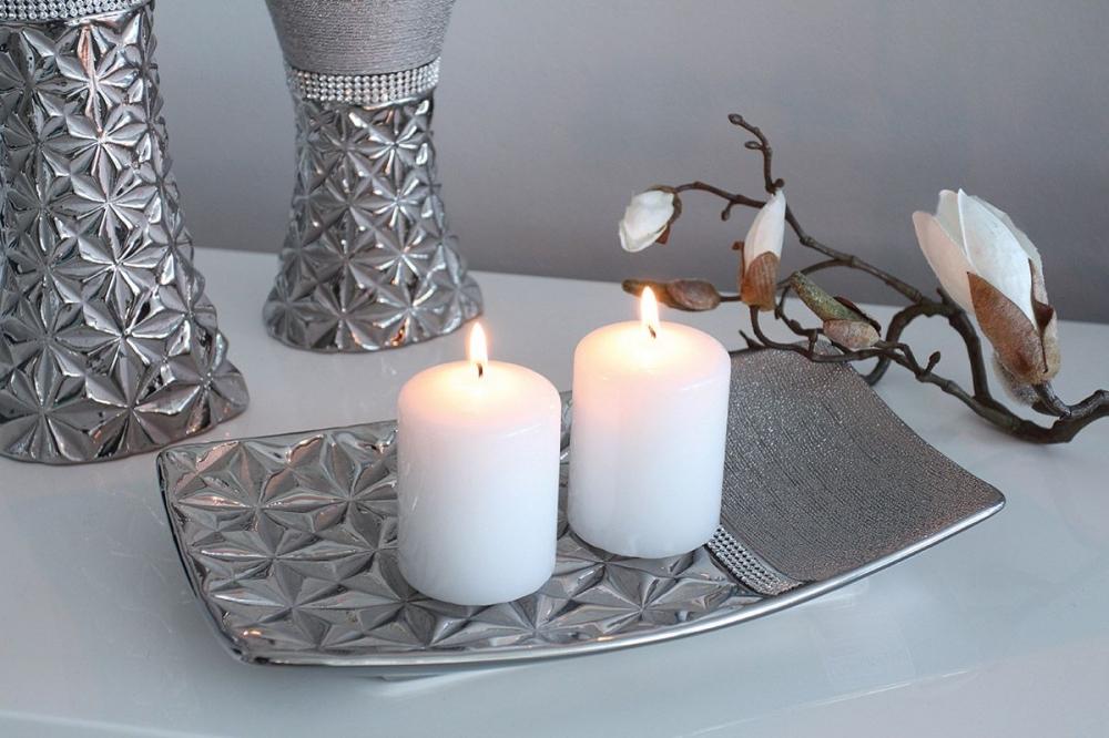 Platou decorativ din ceramica Twinkles L30cm imagine 2021 insignis.ro