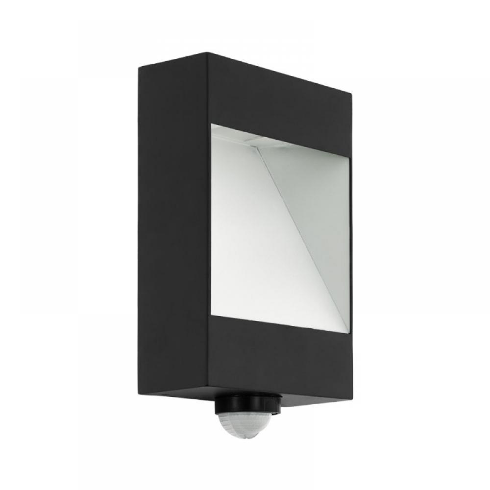 Aplica exterior LED cu senzor de miscare Manfria 10W 830lm 3000k imagine 2021 insignis.ro