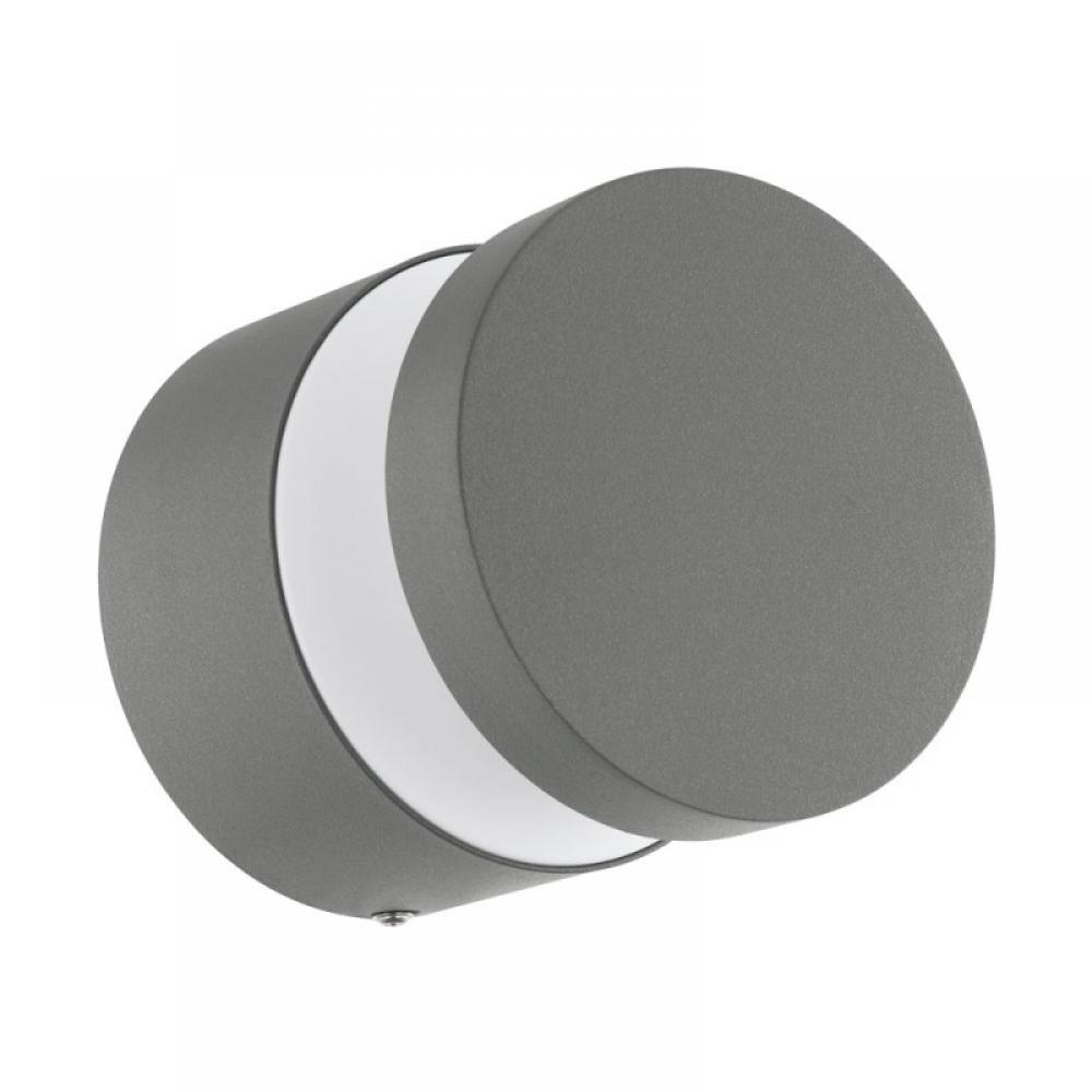 Aplica exterior LED Menzo 1X11W 950lm 3000K argintiu imagine 2021 insignis.ro