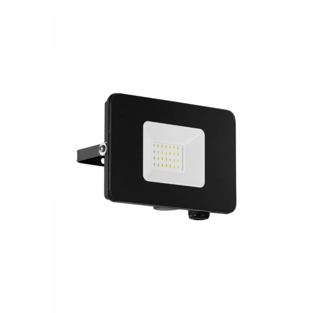Proiector exterior LED Faedo 20W 1800lm 5000K IP65 Negru imagine 2021 insignis.ro