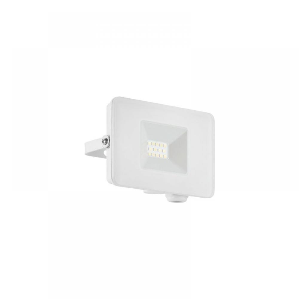 Proiector exterior LED Faedo 10W 900lm 5000K IP65 Alb imagine 2021 insignis.ro