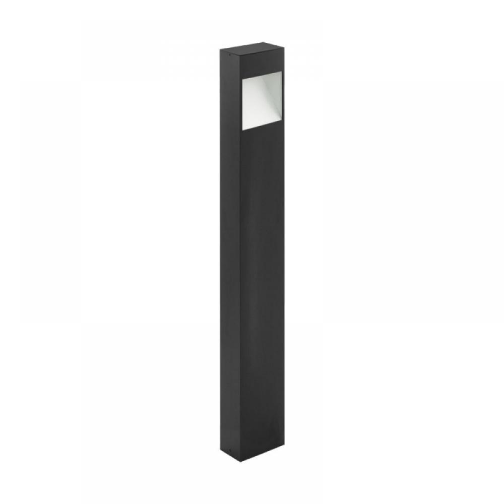Stalp exterior LED Manfria 10W 830lm 3000K H870mm antracit imagine 2021 insignis.ro