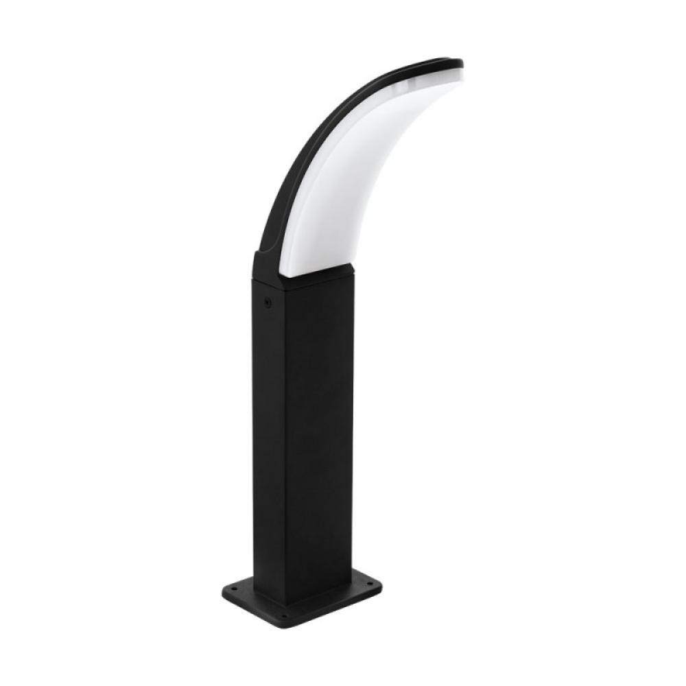Stalp exterior LED Fiumicino 1X11W 1300lm 3000K H450mm negru imagine 2021 insignis.ro