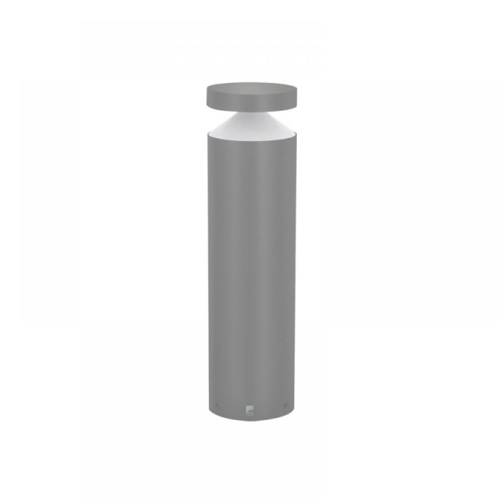 Stalp exterior LED Melzo 1X11W 950lm 3000K H450mm argintiu imagine 2021 insignis.ro