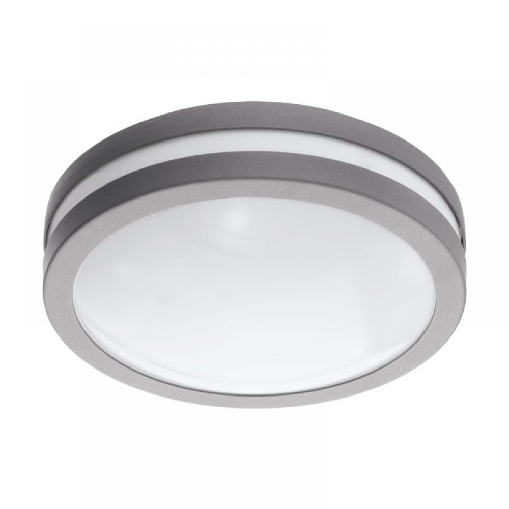 Plafoniera inteligenta exterior Locana LED RGB 14W 1400lm 3000K Argintiu imagine 2021 insignis.ro