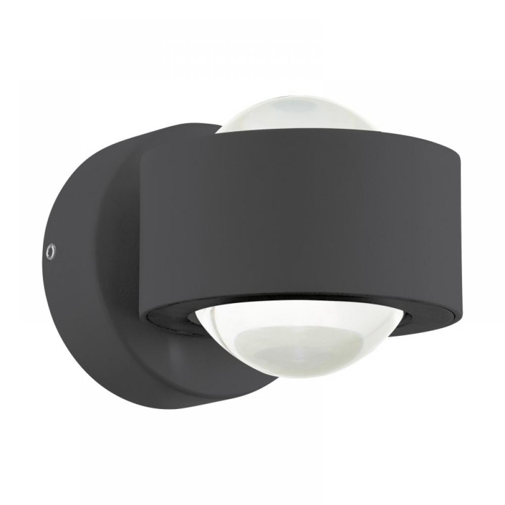 Aplica exterior LED Treviolo 2x2W antracit imagine 2021 insignis.ro