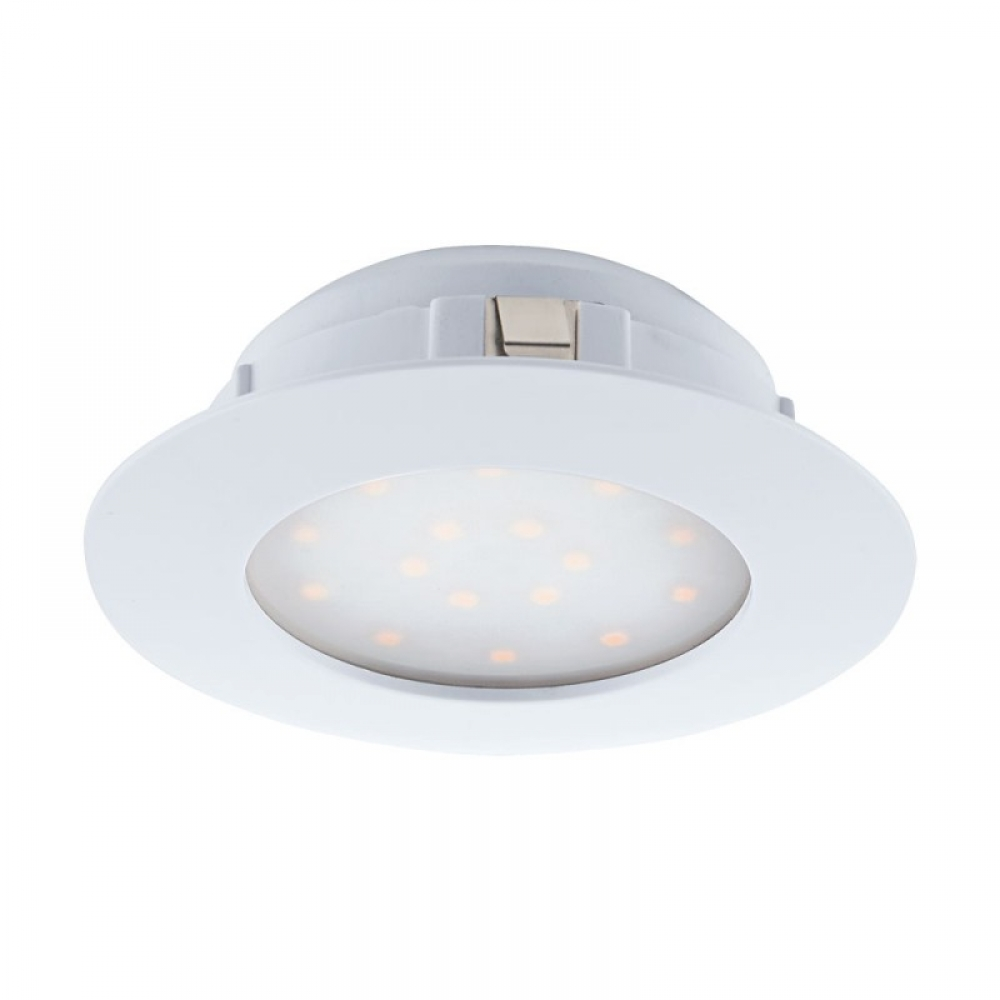 Spot incastrat baie LED Pineda 1X12W 1000lm 3000K D102mm imagine 2021 insignis.ro
