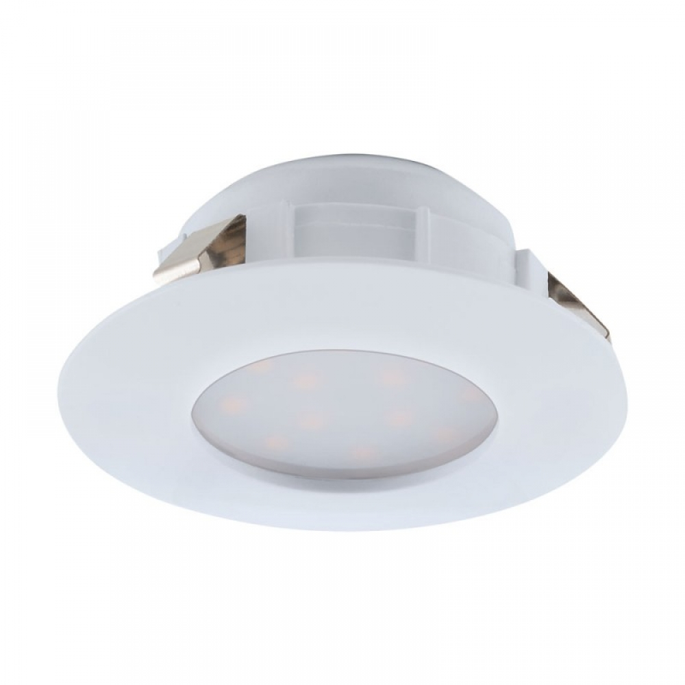Spot incastrat baie LED Pineda 1X6W 500lm 3000K D78mm imagine 2021 insignis.ro