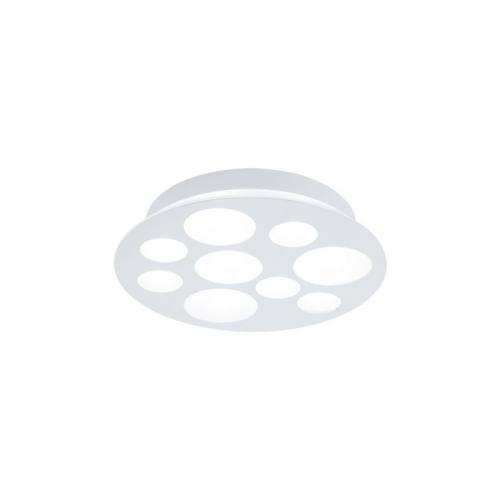 Plafoniera Ufo Alb-Satin  Cerc Diametru 38