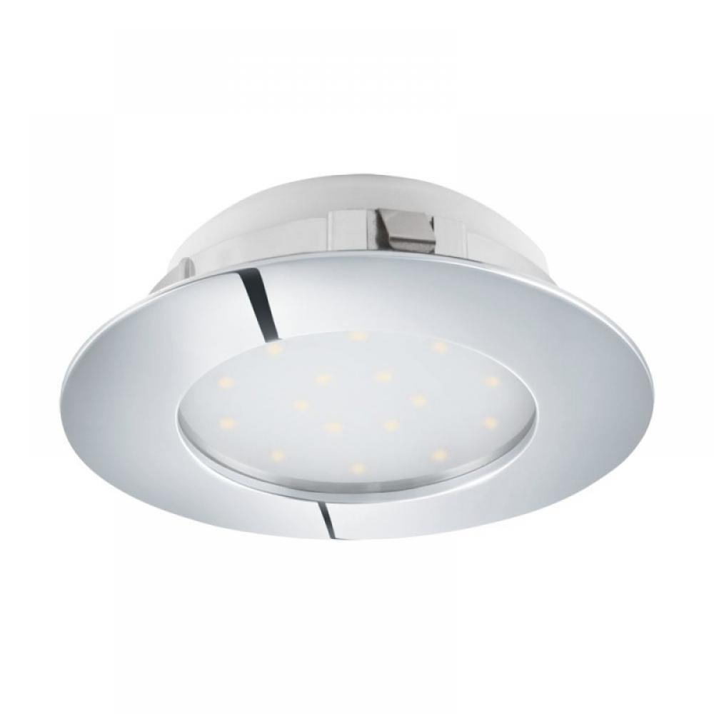 Spot incastrat baie LED Pineda 12W 1000lm 3000K crom D102mm imagine 2021 insignis.ro