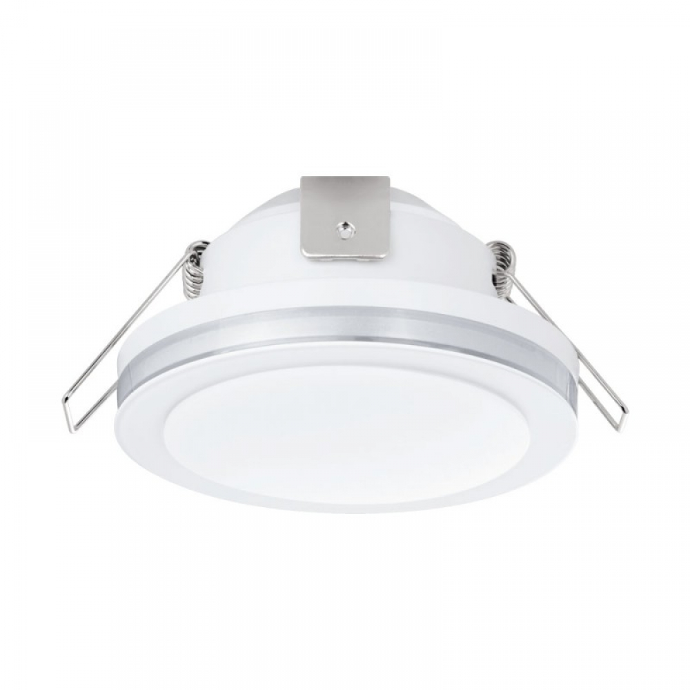Spot incastrat baie LED Pineda 6W 500lm 3000K alb D82mm imagine 2021 insignis.ro