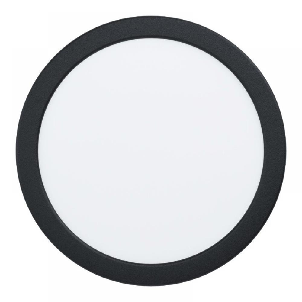 Spot incastrat LED Fueva D216mm 16.5W 1800lm 3000K negru D216mm imagine 2021 insignis.ro