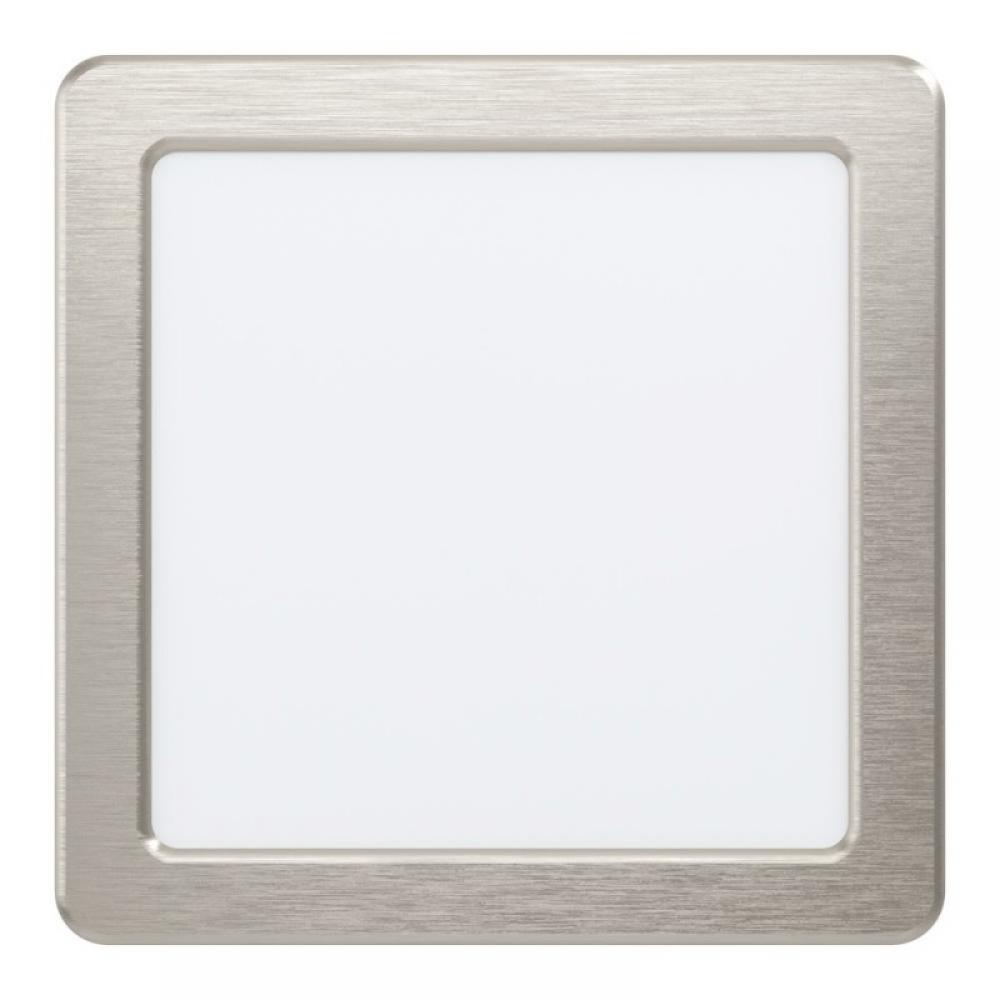 Spot incastrat LED patrat Fueva 10.5W 1200lm 3000K nichel L166mm imagine 2021 insignis.ro