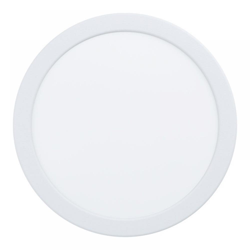 Spot incastrat LED rotund Fueva 16.5W 1800lm 3000K alb D216mm imagine 2021 insignis.ro