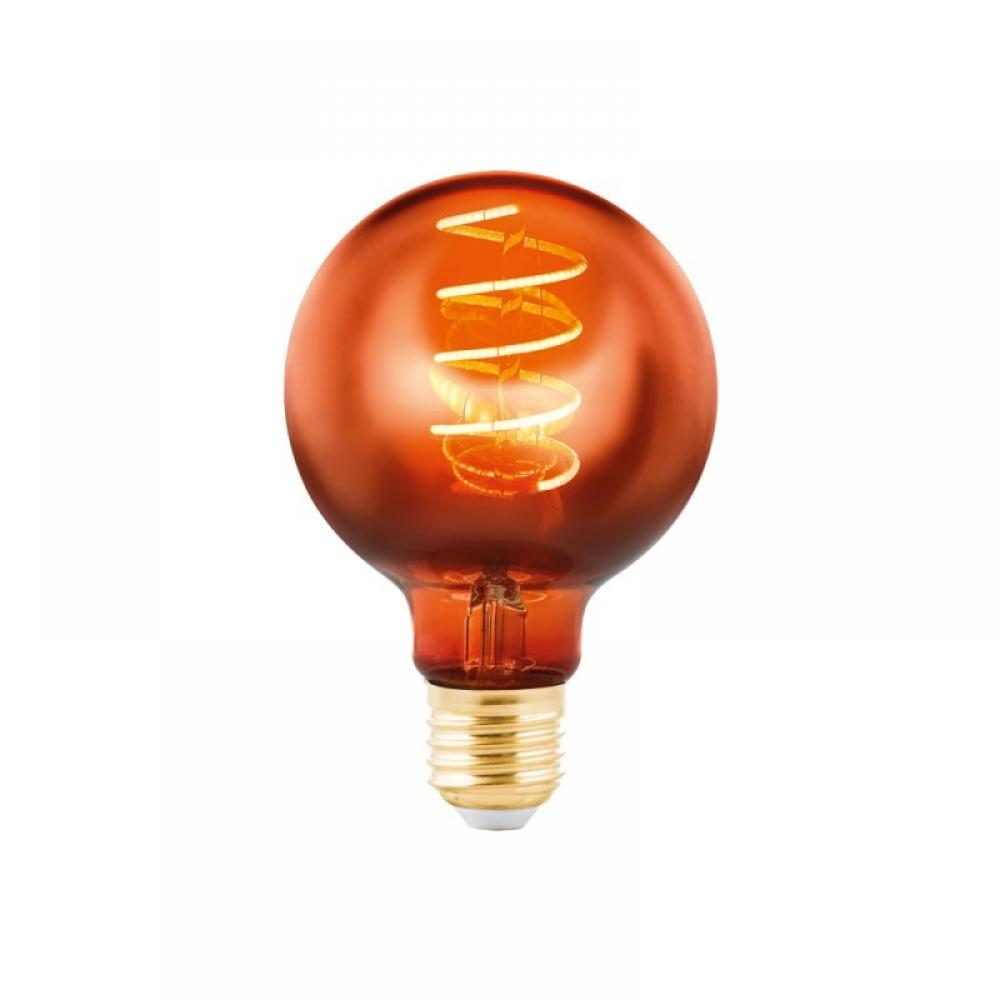 Bec decorativ dimabil LED E27 1x4W 2000K imagine 2021 insignis.ro