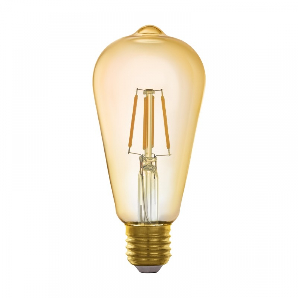 Bec inteligent decorativ LED E27 5.5W 2200K imagine 2021 insignis.ro