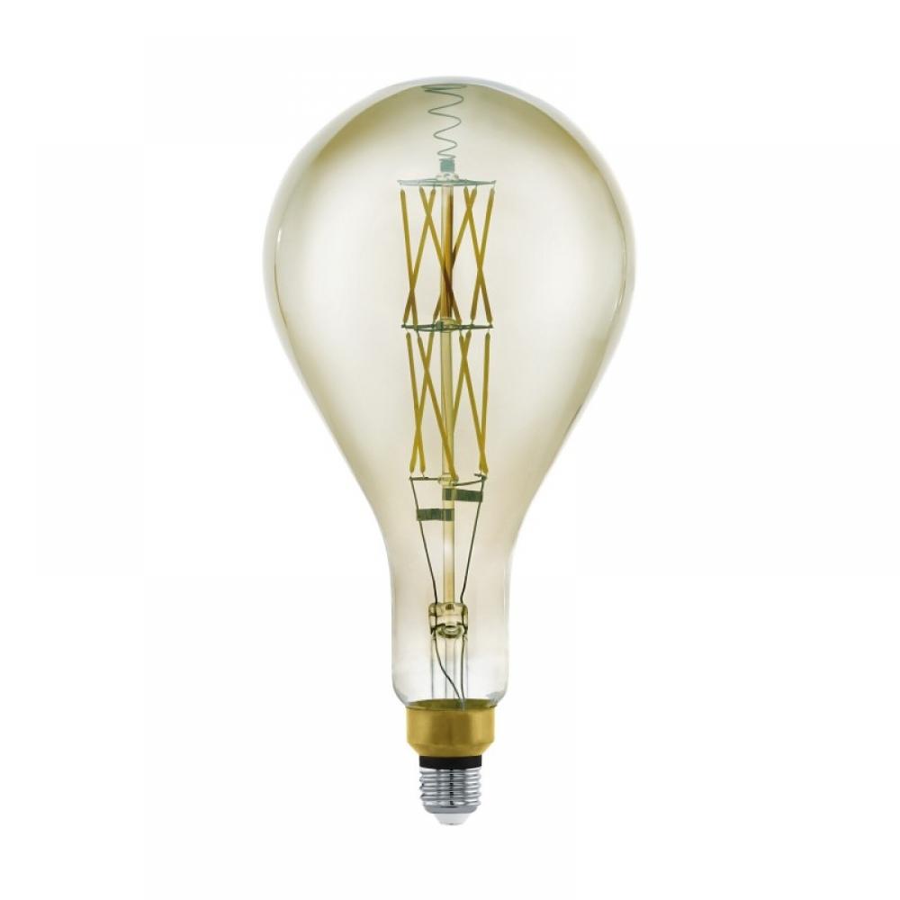 Bec dimabil decorativ LED E27 8W 3000K imagine 2021 insignis.ro