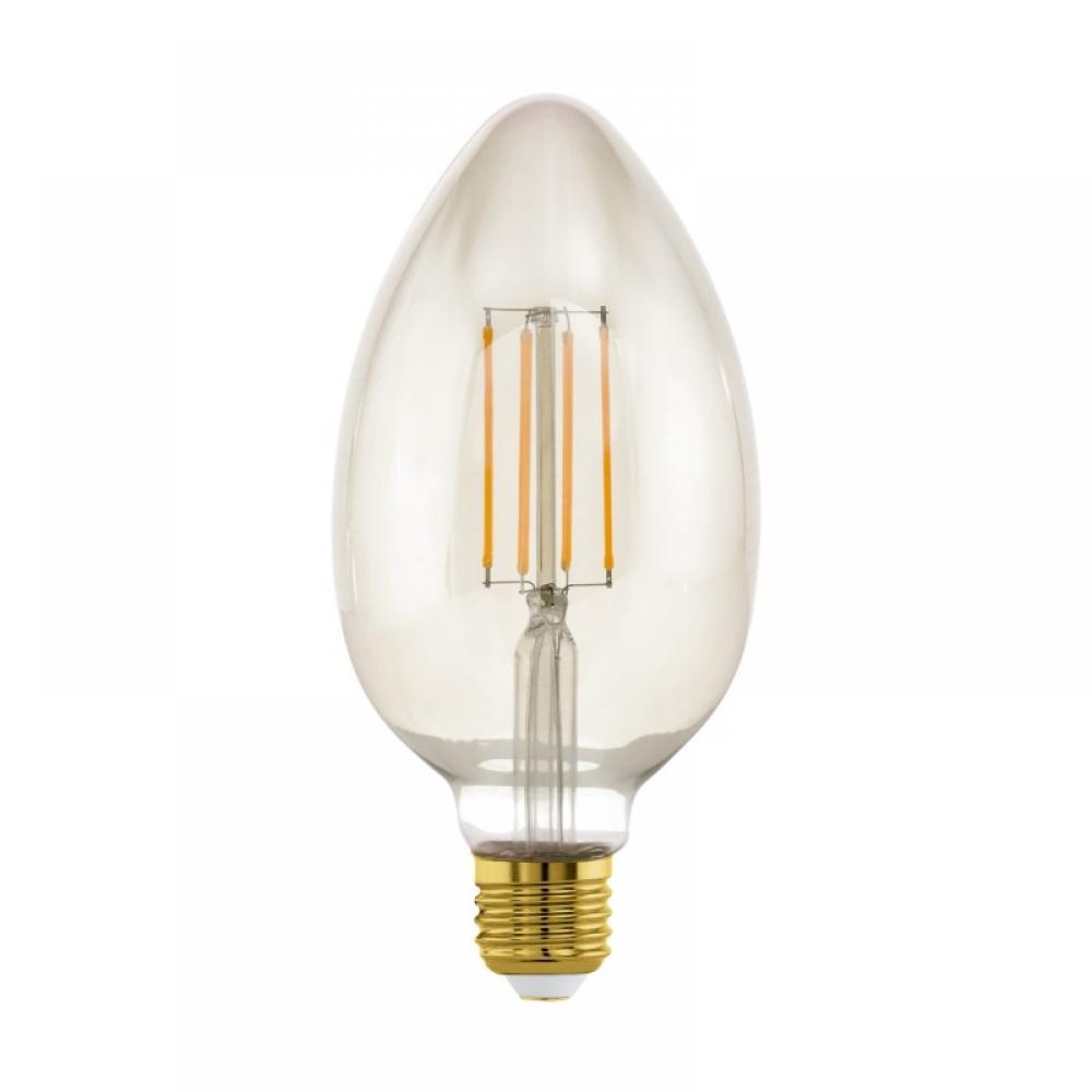 Bec dimabil decorativ LED E27 4W 2200K imagine 2021 insignis.ro