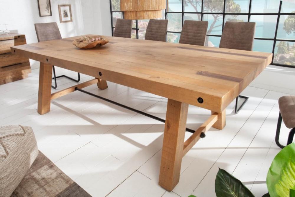 Masa din lemn reciclat de pin Finca L240cm imagine 2021 insignis.ro
