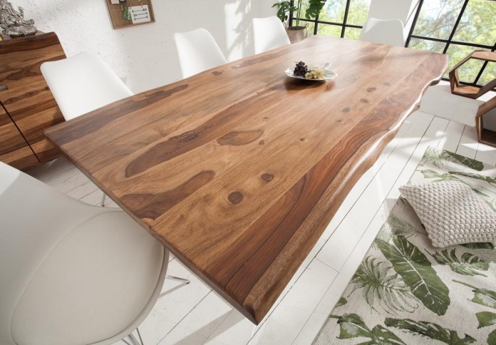 Masa Mammut L180cm blat din lemn masiv de palisandru grosime 4cm imagine 2021 insignis.ro