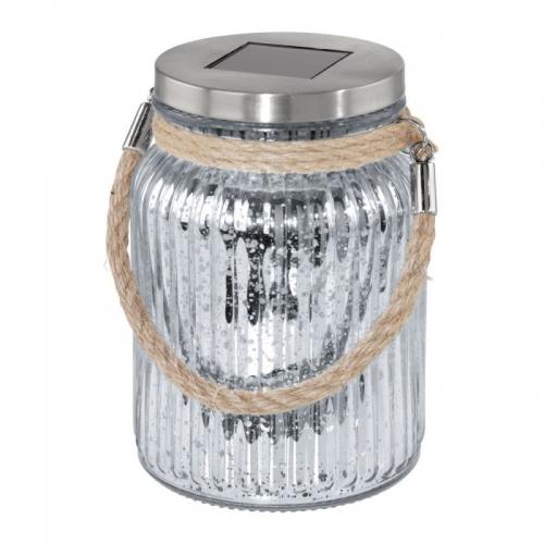 SOLAR LED, JAR, OTEL/STICLA, 1X0,06W