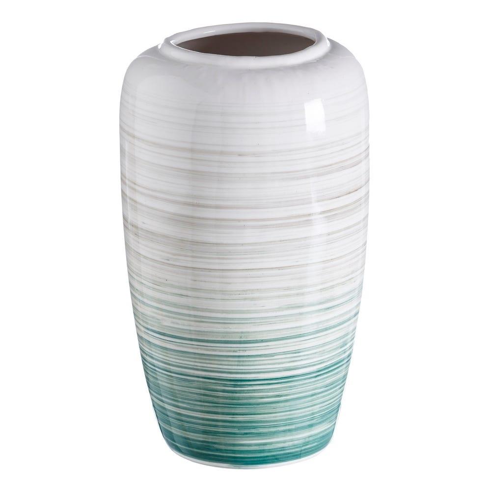 Vaza decorativa din ceramica Aqua L23.6cm imagine 2021 insignis.ro