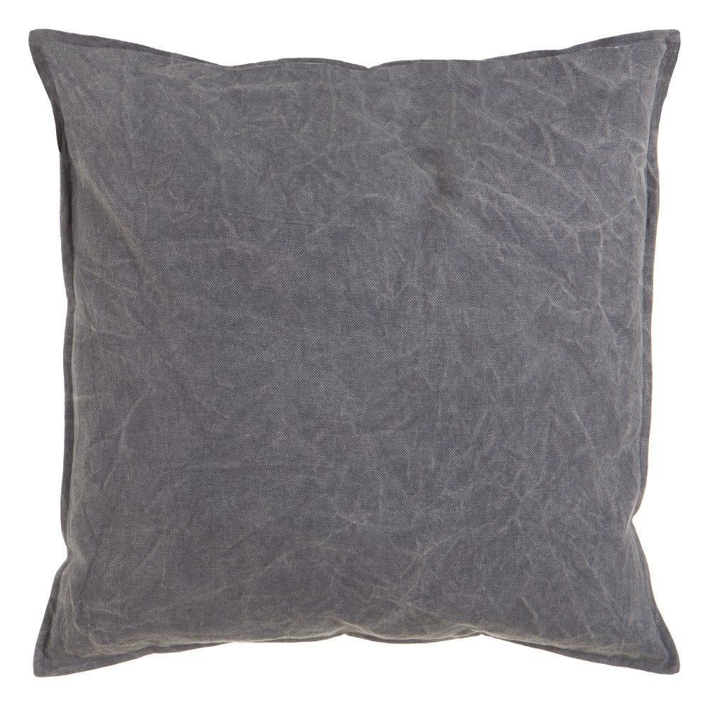 Perna decorativa gri inchis Washed L60cm imagine 2021 insignis.ro