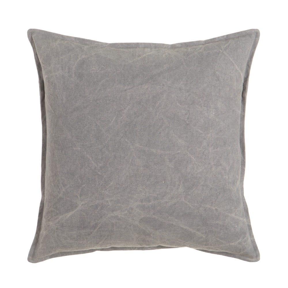 Perna decorativa gri Washed L45cm imagine 2021 insignis.ro