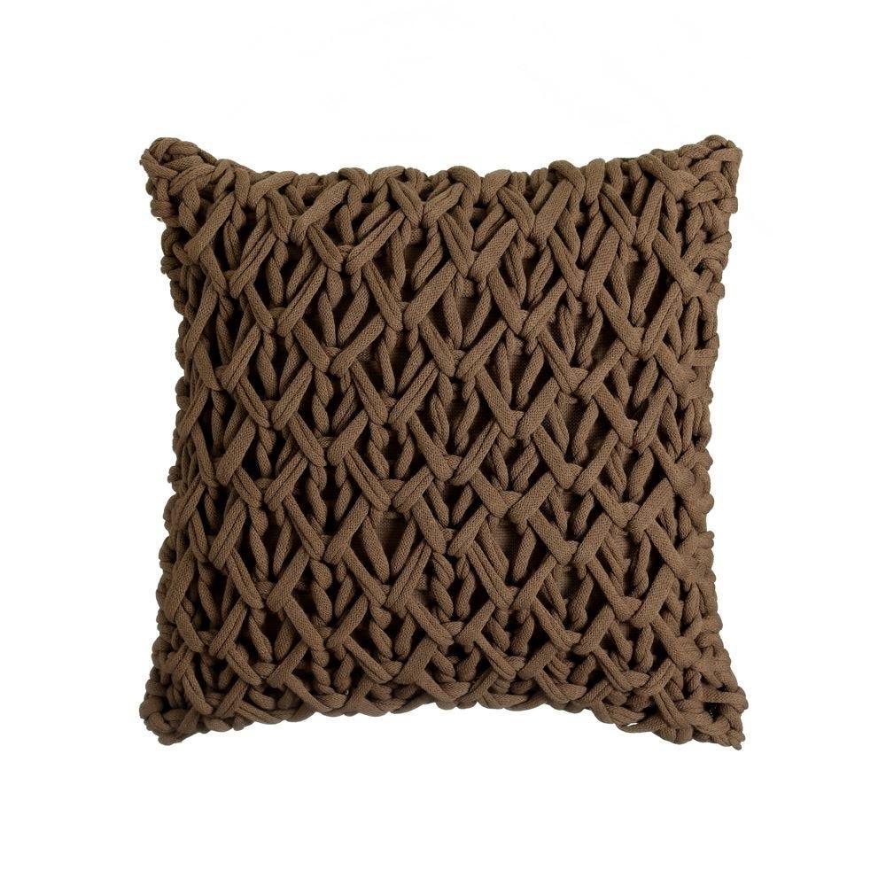 Perna decorativa tricotata manual Norway L45cm imagine 2021 insignis.ro