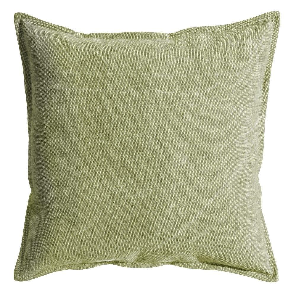 Perna decorativa verde Washed L60cm imagine 2021 insignis.ro