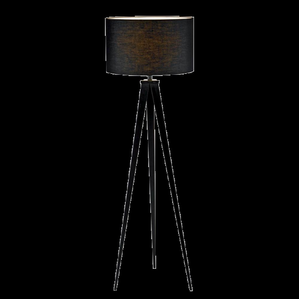 Lampa de podea Timo Gri inchis 1xE27 40x155 imagine 2021 insignis.ro