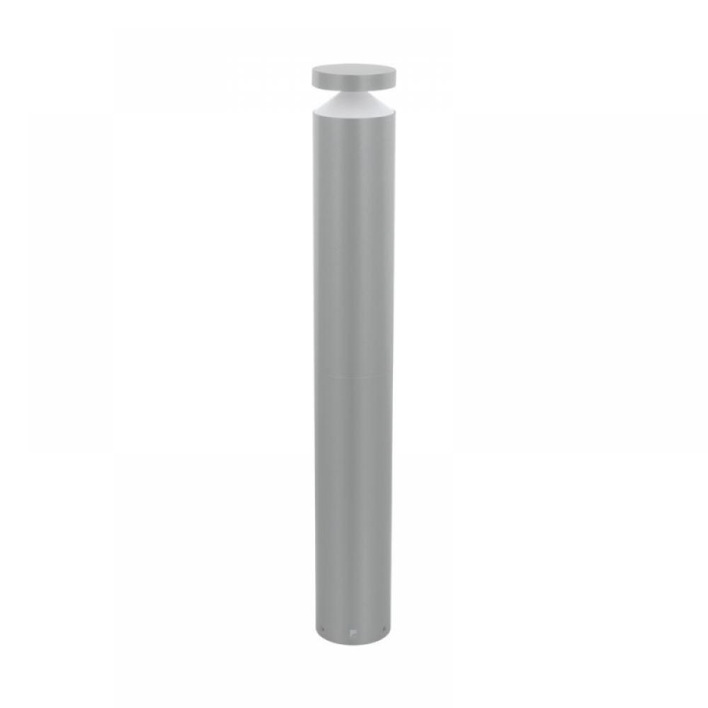 Stalp exterior LED Melzo 1X11W 950lm 3000K H990mm argintiu imagine 2021 insignis.ro