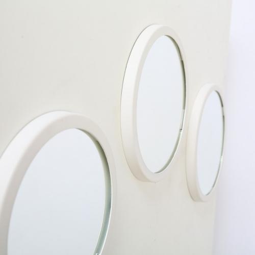 Oglinda Lorena set 3buc D20-25 alb