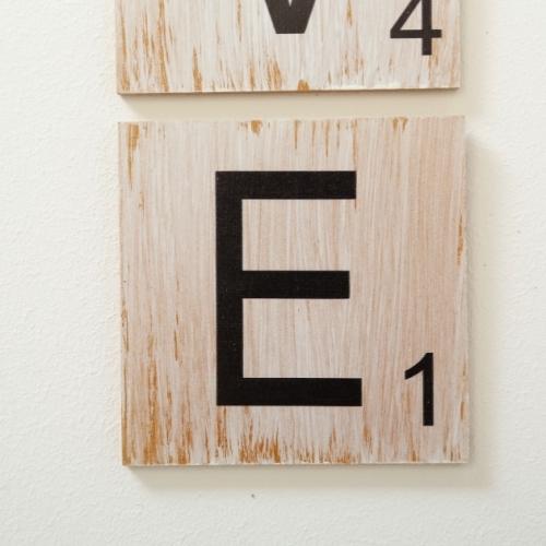 Decoratiune perete litere H10