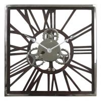 Ceas de perete Mecanix Lemn-Metal_sticla D41