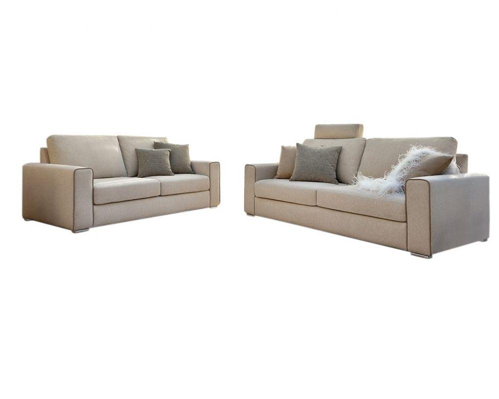 Canapea fixa 3 locuri Icaro stil Modern L241cm image0