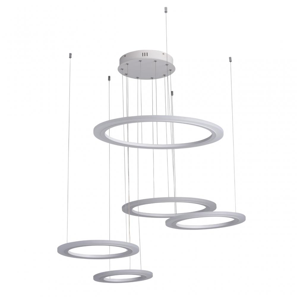 Lustra LED Hi-Tech H180cm LED - 128W imagine