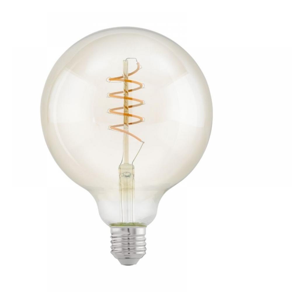 Bec LED decorativ LED E27 4W 2100K imagine 2021 insignis.ro