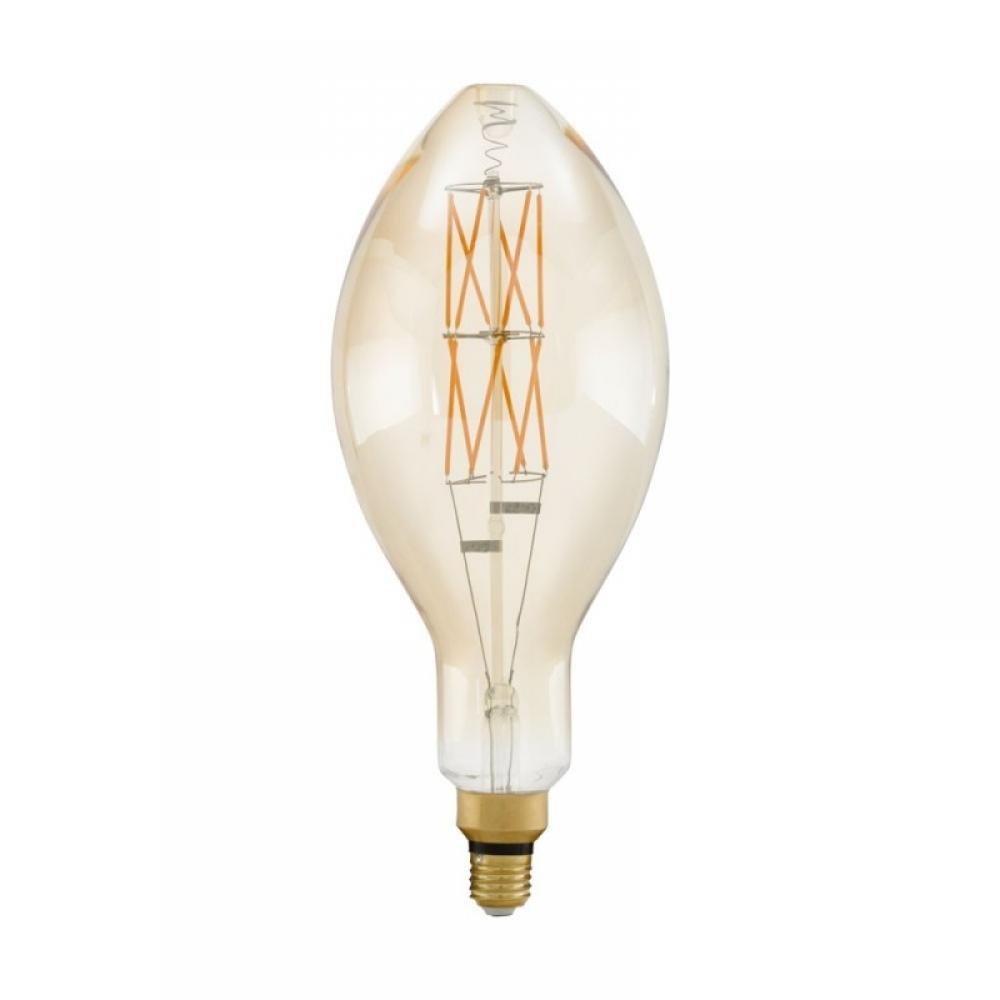 Bec dimabil decorativ LED E27 8W 2100K imagine 2021 insignis.ro